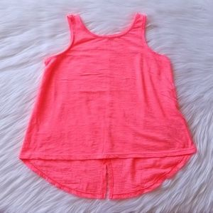 🎀Old Navy Neon Pink Tank Top Size XS 5💓